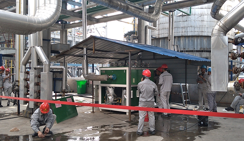 达能蒸汽发生器用于生物化工行业