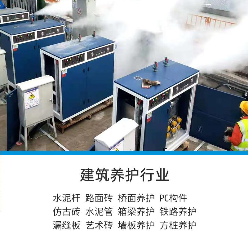 达能蒸汽发生器用于混凝土养护