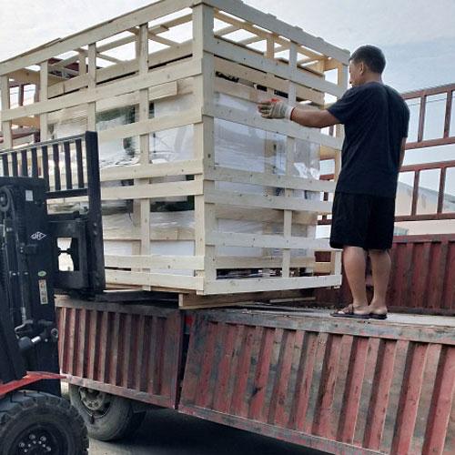 7月26日蒸汽发生器发往青岛